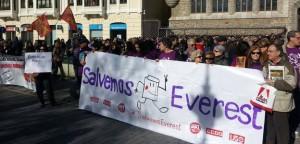 Everest dice no a la última oferta, mantiene la huelga y convoca una manifestación el domingo