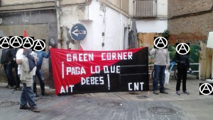 Green Corner paga gracias a la acción directa
