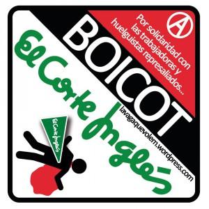 Concentración: Boicot al Corte Inglés por su represión a huelguistas
