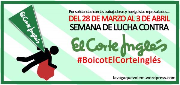 Semana de Lucha #BoicotElCorteIngles