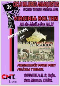 Ciclo de Mujeres Anarquistas