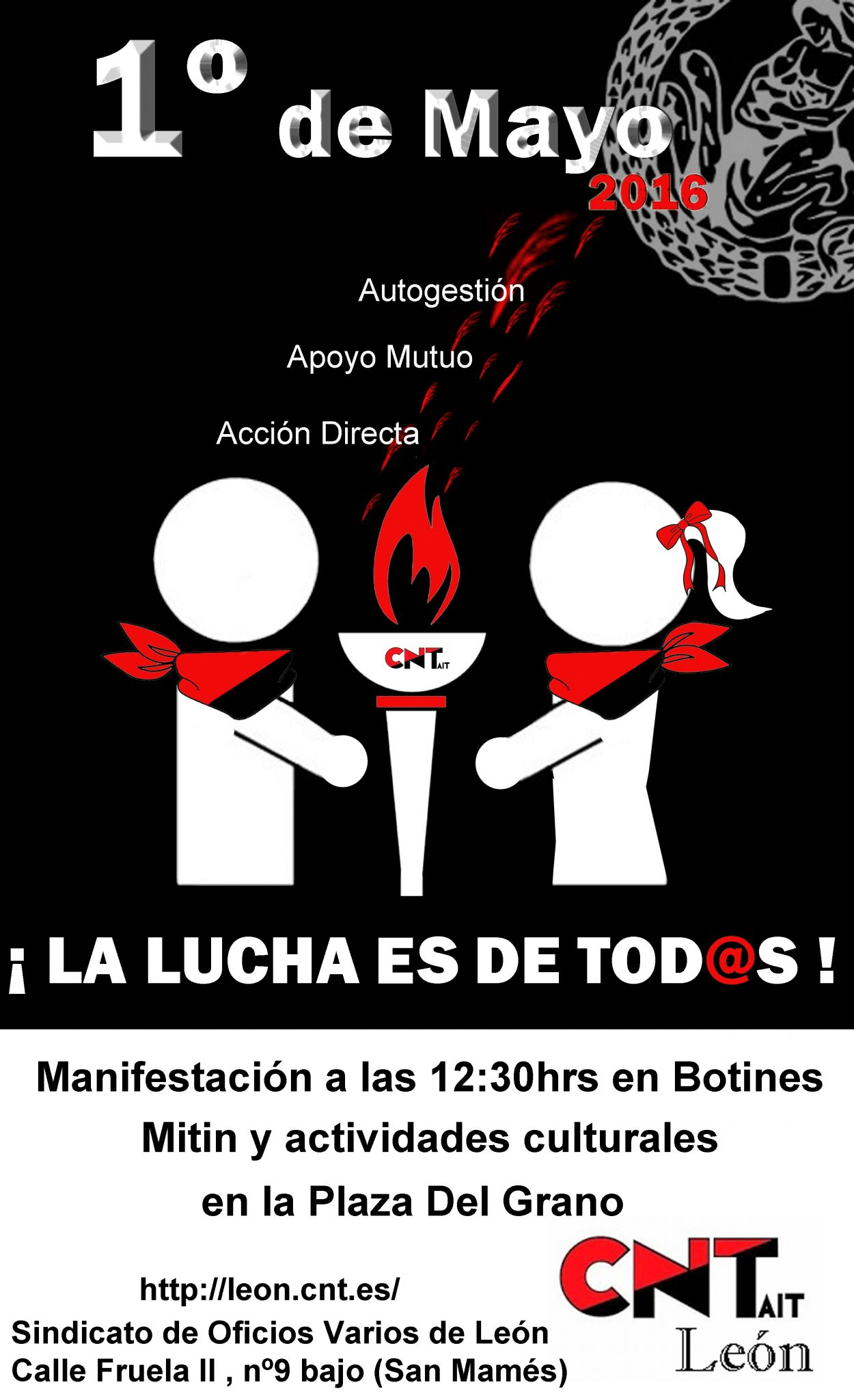 1º Mayo ¡ La lucha es de tod@s !