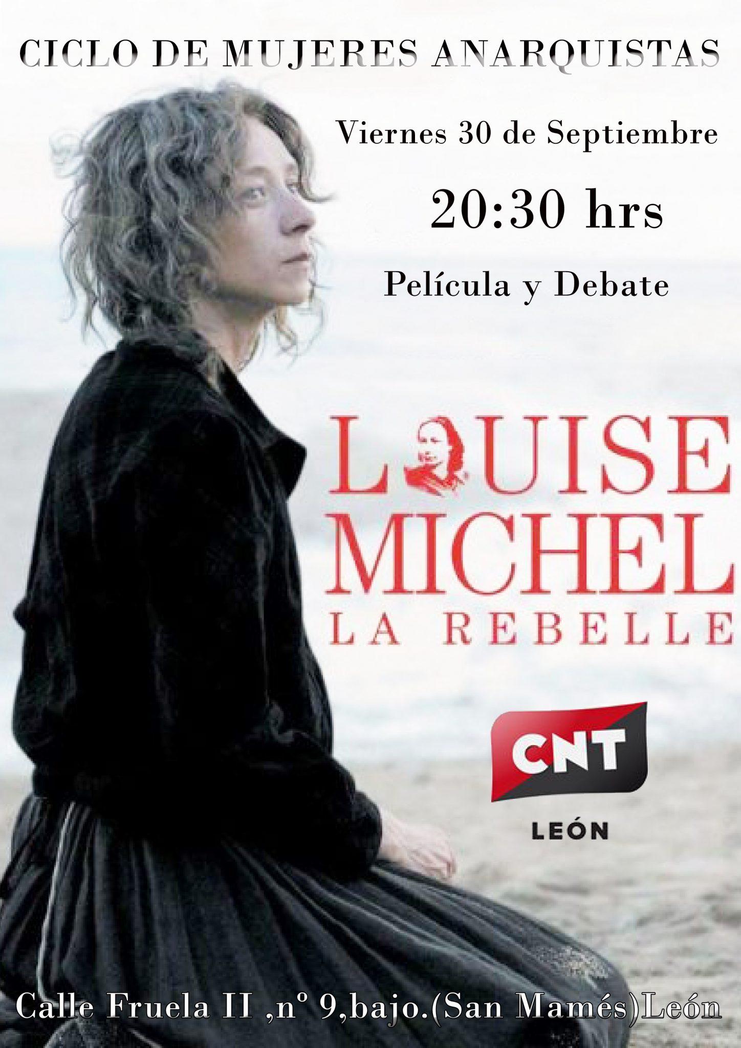 CICLO DE MUJERES ANARQUISTAS – Louise Michel (30 de Septiembre)