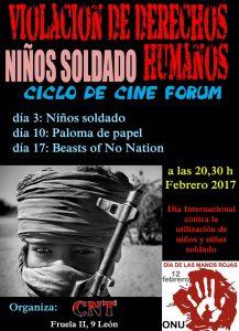 Ciclo de Cine-Forum «Niños soldado»