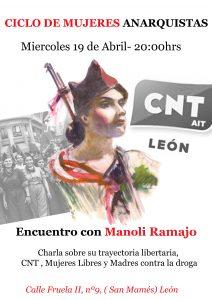 CICLO DE MUJERES ANARQUISTAS-Encuentro con Manoli Ramajo
