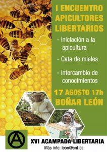 I ENCUENTRO DE APICULTORES LIBERTARIOS EN LA ACAMPADA LIBERTARIA DE CNT-LEÓN