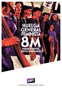 8 de Marzo: HUELGA FEMINISTA.