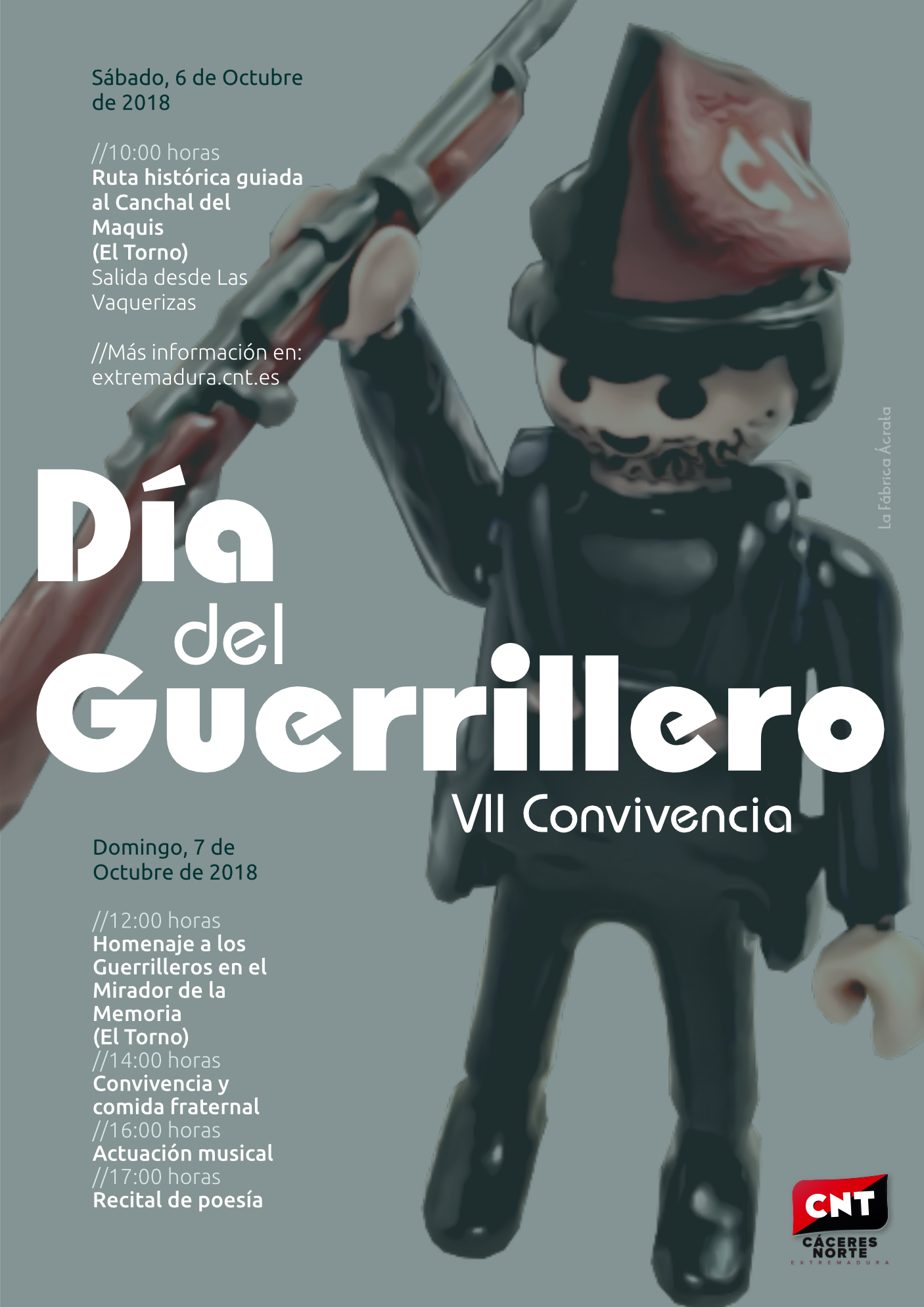 Día del Guerrillero 2018. VII Convivencia en El Torno (Cáceres)