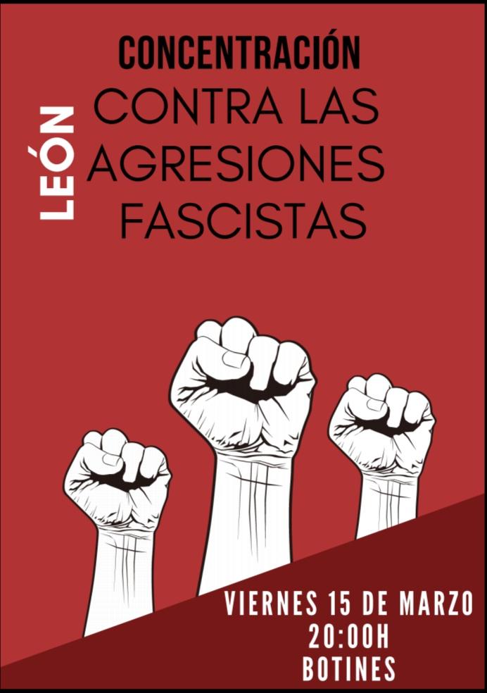 ¡Ninguna agresión fascista sin respuesta!