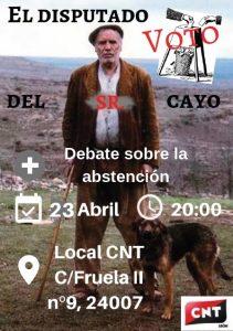 CAMPAÑA ELECCIONES Y ABSTENCIÓN: Vídeo-debate