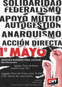 1º DE MAYO: ¡Muchas razones para luchar!