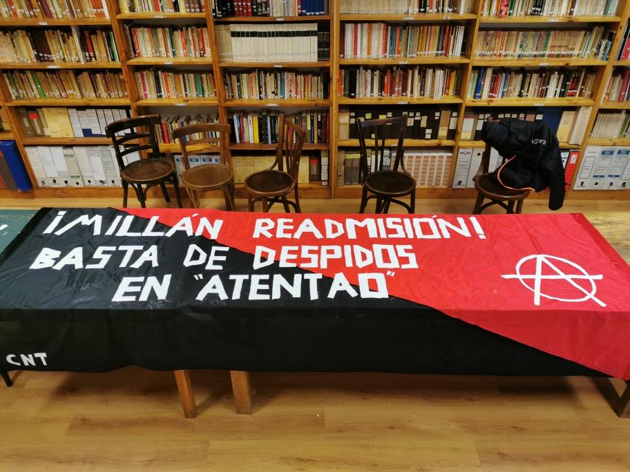 CNT contra «Atentao»: Comienza la lucha.