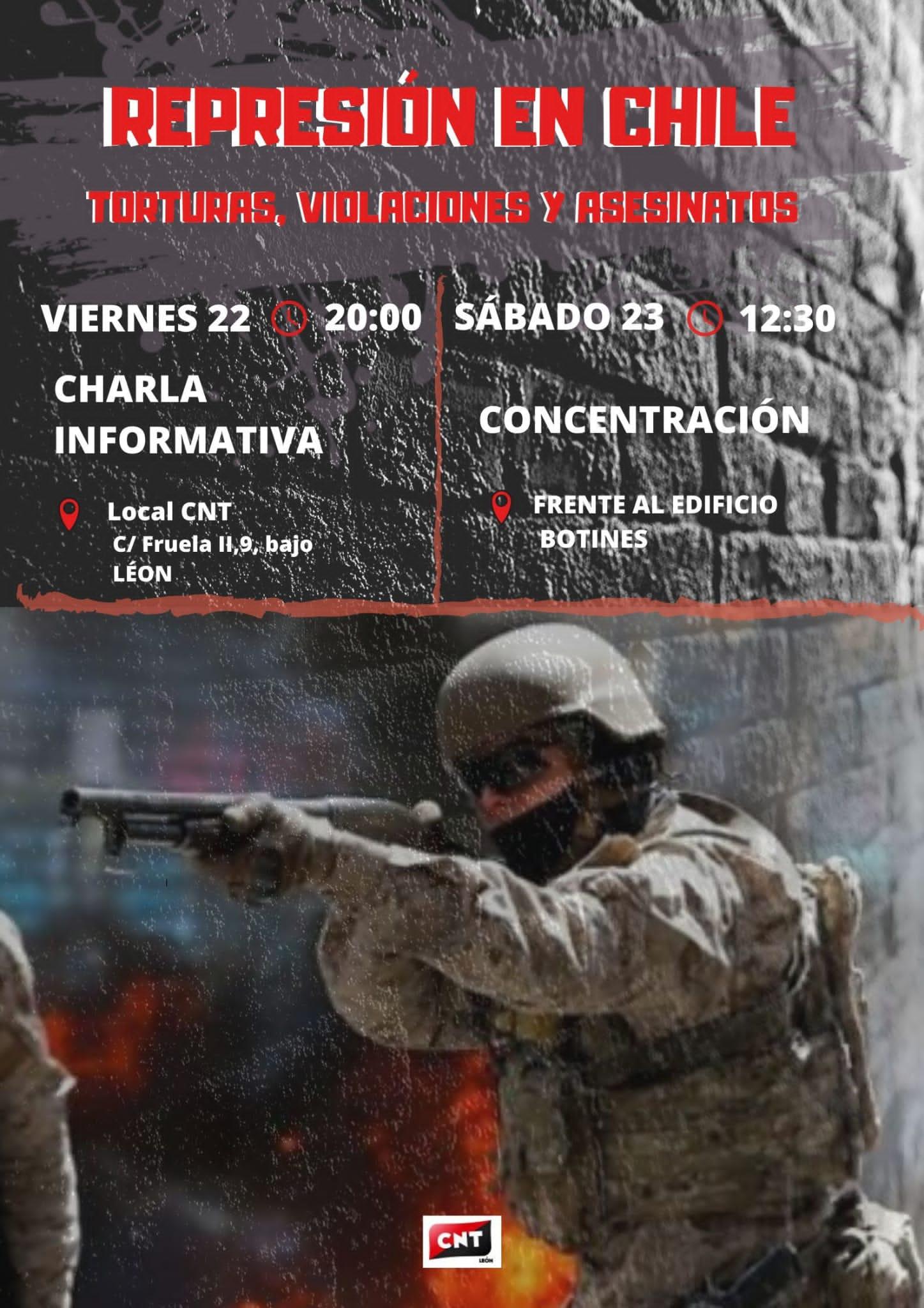 En Chile torturan, violan y matan