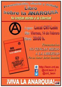 Charla, presentación y debate sobre el libro: «No tengan miedo a la libertad»